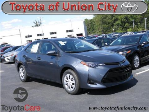 New 2018 Toyota Corolla L FWD 4dr Car