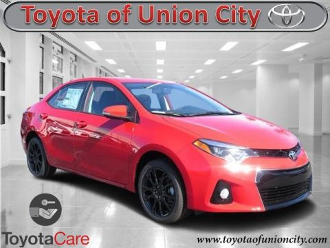 New 2016 Toyota Corolla S Special Edition FWD 4dr Car