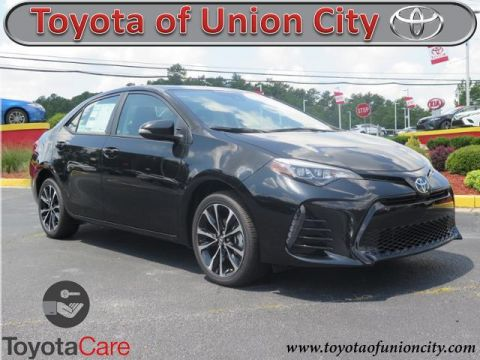 New 2017 Toyota Corolla XSE FWD 4dr Car