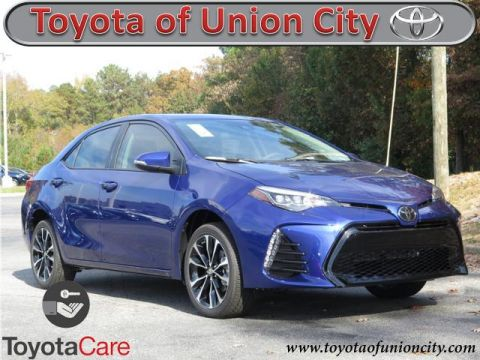 New 2018 Toyota Corolla XSE FWD 4dr Car