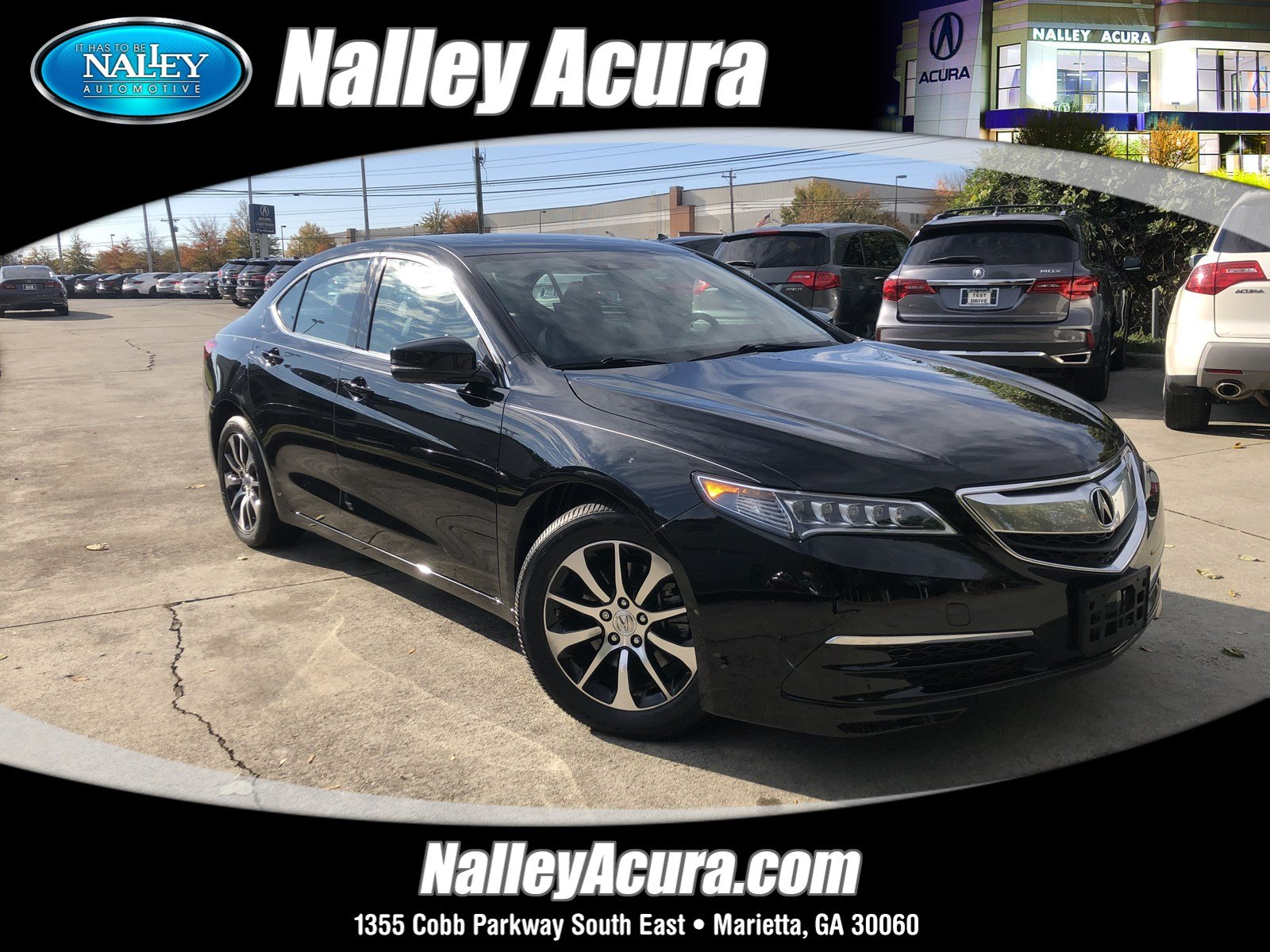 Pre Owned 2015 Acura TLX Tech 4dr Car in Union City FA