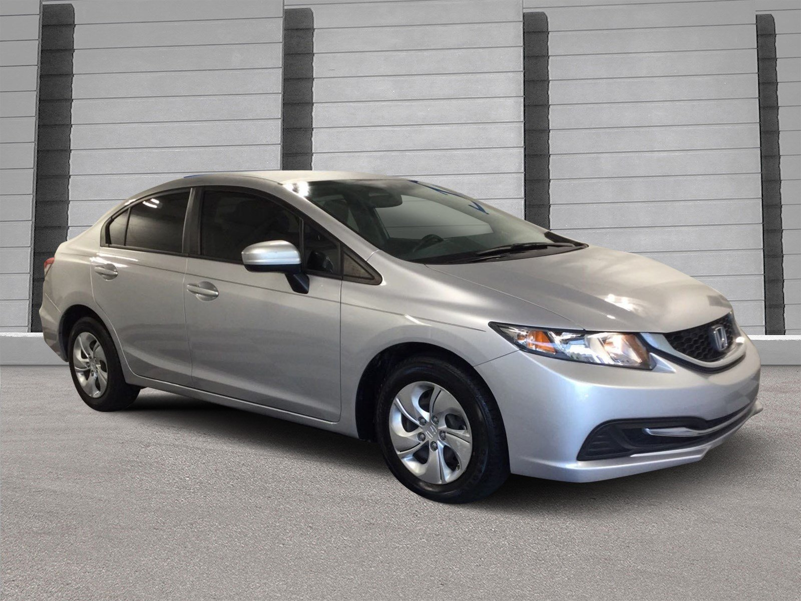 Delightful Pre Owned 2015 Honda Civic Sedan LX