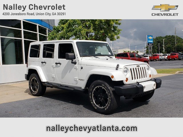 Pre Owned 2012 Jeep Wrangler Unlimited Altitude