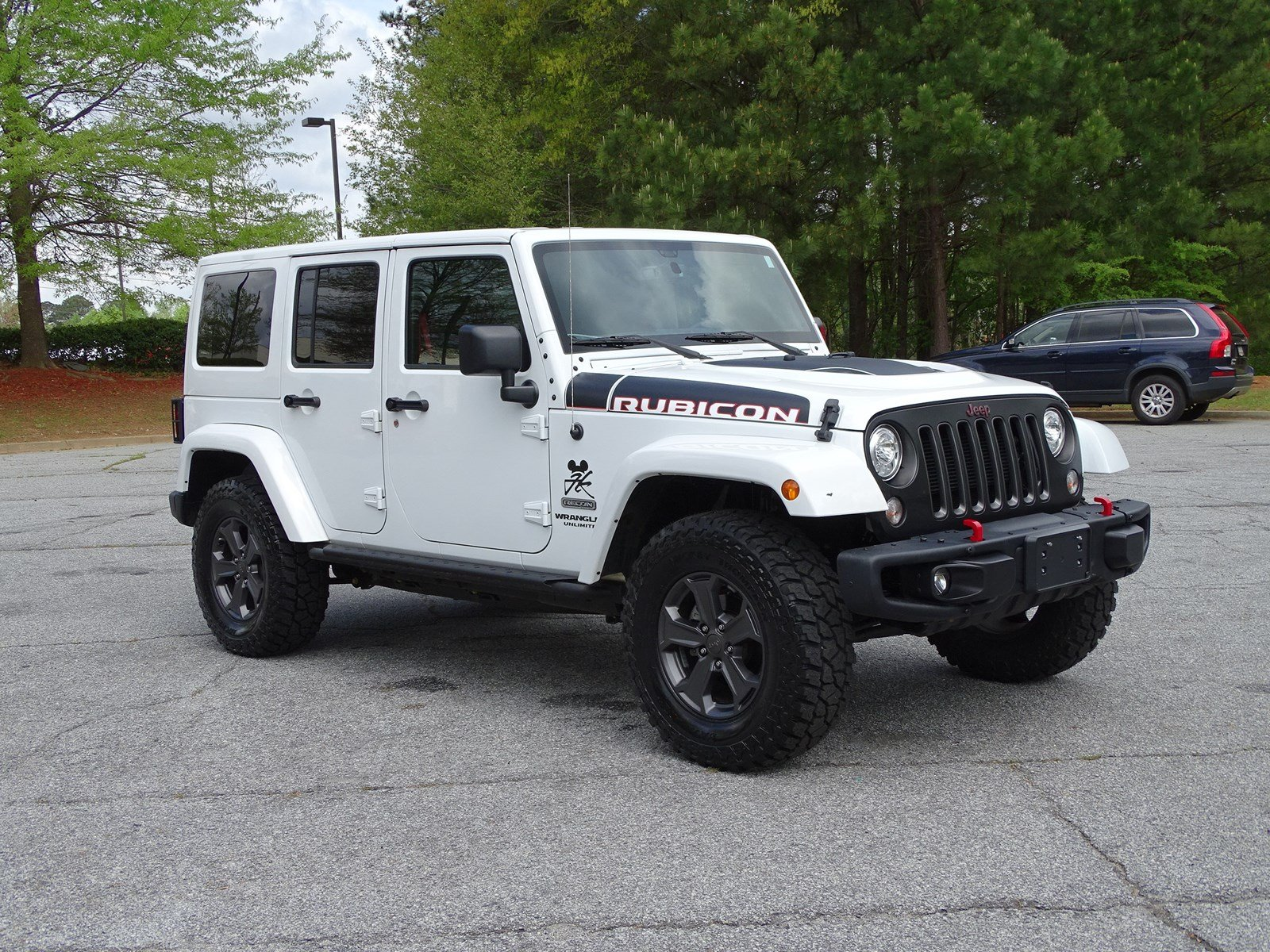 Pre Owned 2017 Jeep Wrangler Unlimited Rubicon Recon