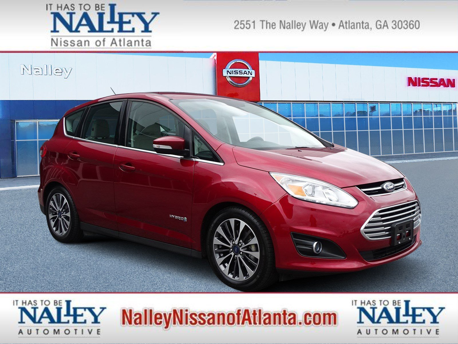 Pre Owned 2017 Ford C Max Hybrid Anium
