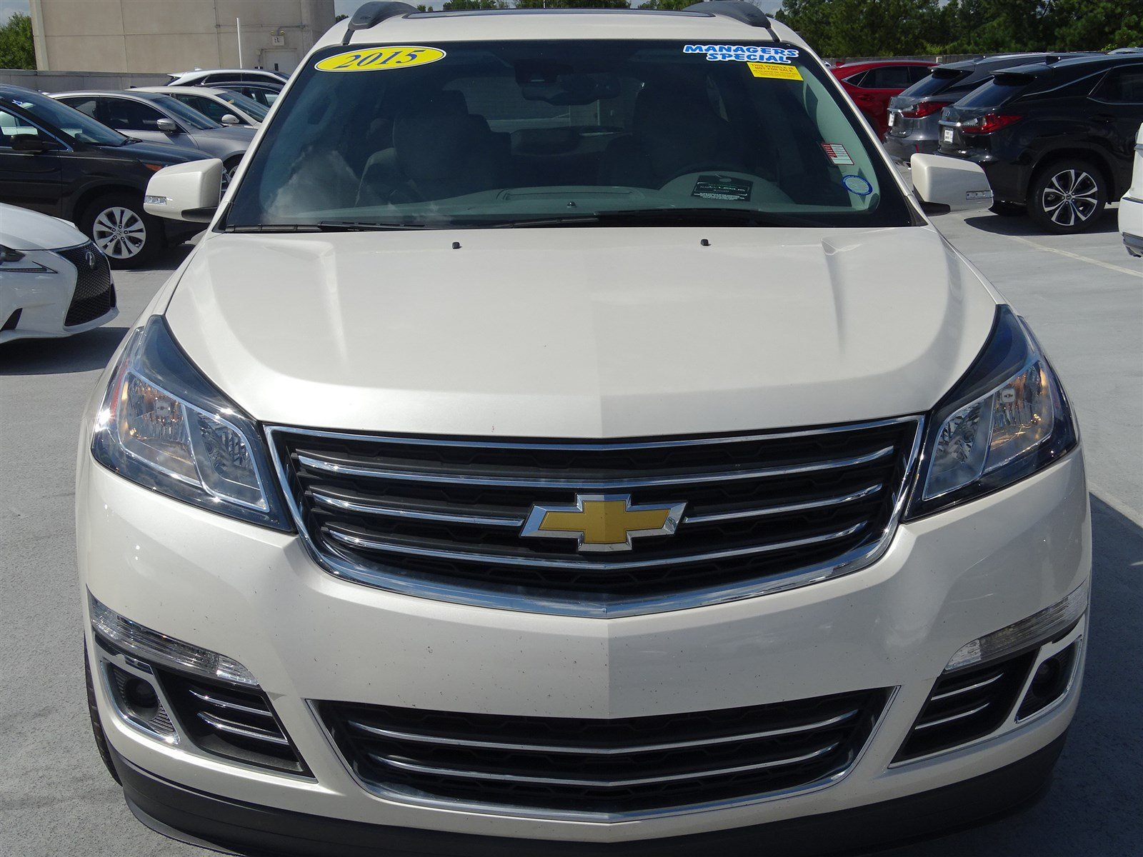 Pre Owned 2015 Chevrolet Traverse LTZ Sport Utility in Union City