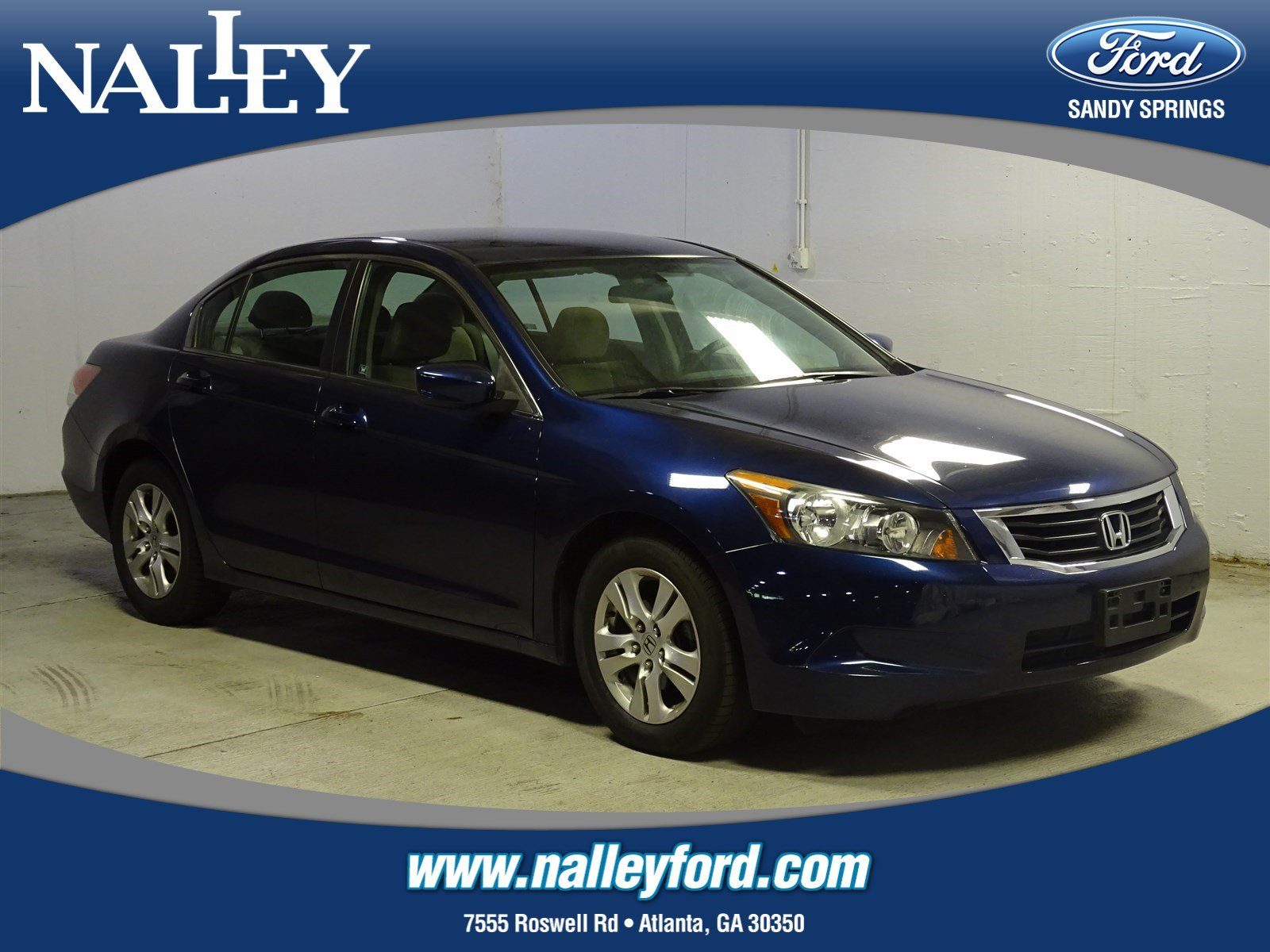 Pre Owned 2010 Honda Accord Sdn LX P