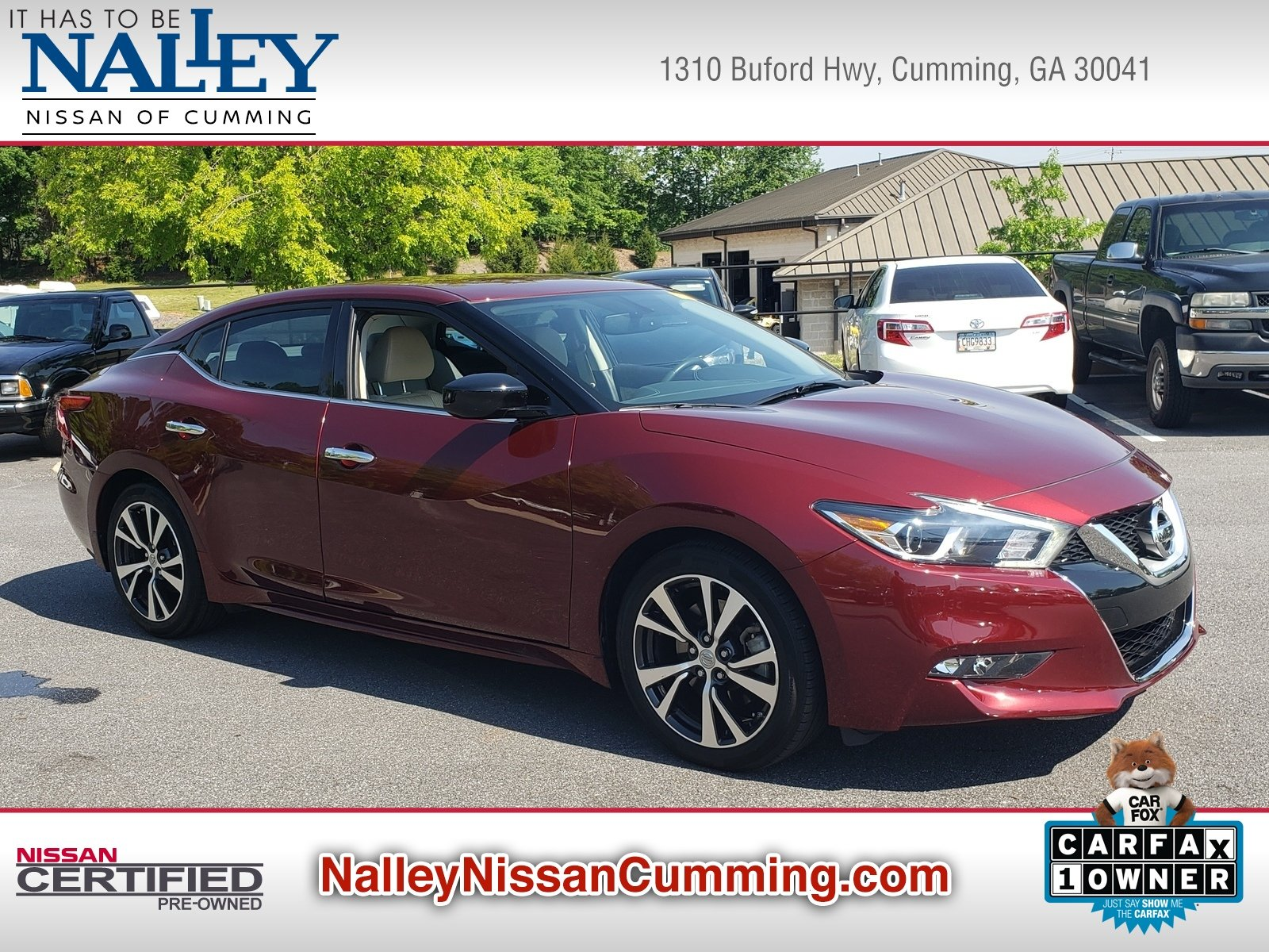 Pre Owned 2017 Nissan Maxima S