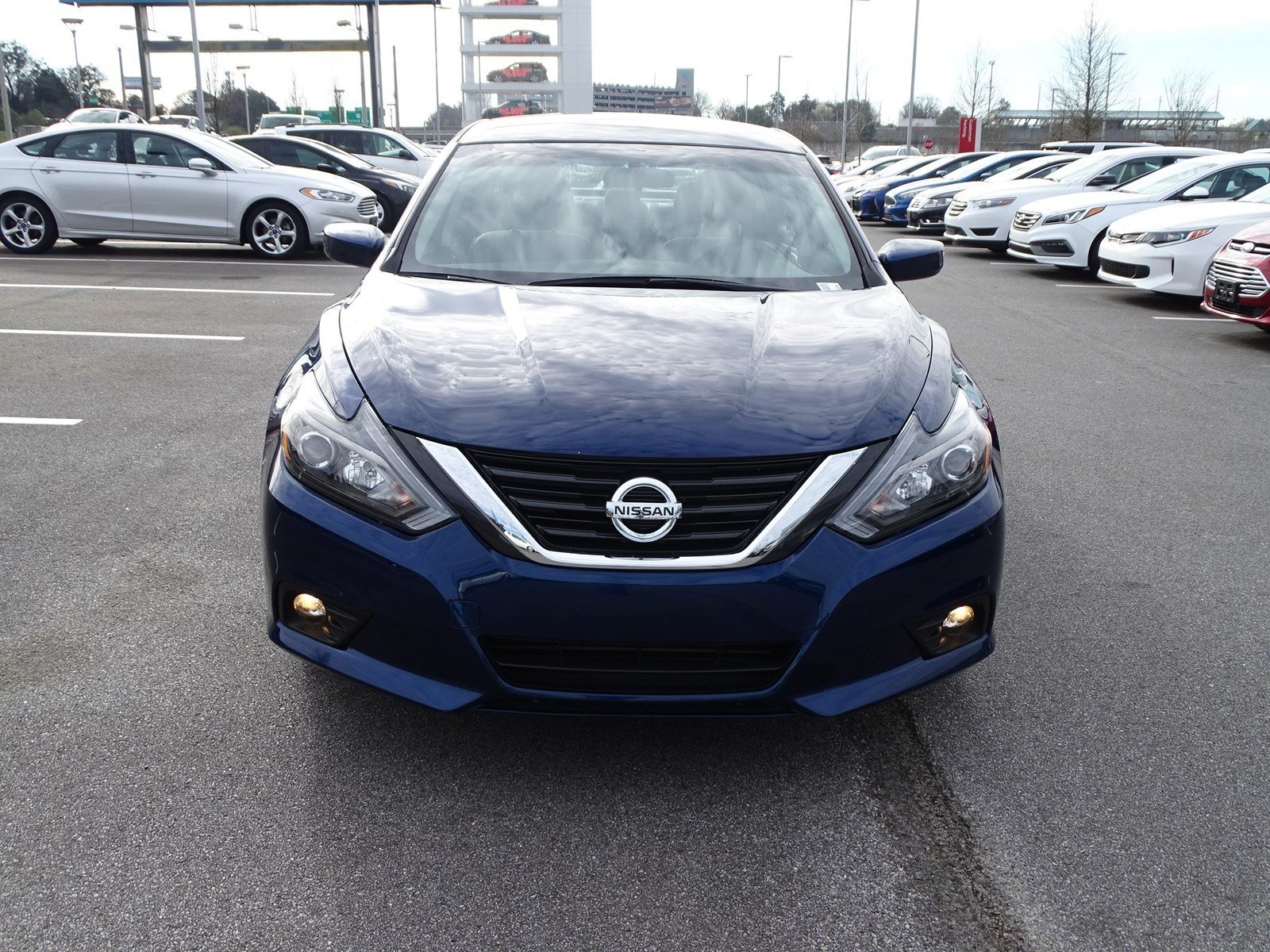 pre-owned 2017 nissan altima 2.5 sr 4dr car in union city #hc143379