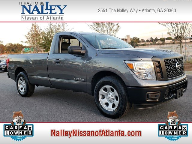 Pre Owned 2017 Nissan Titan S Regular Cab Pickup In Union City