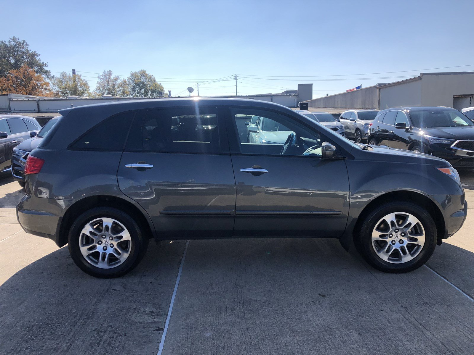 Pre Owned 2007 Acura MDX Tech Entertainment Pkg Sport Utility in