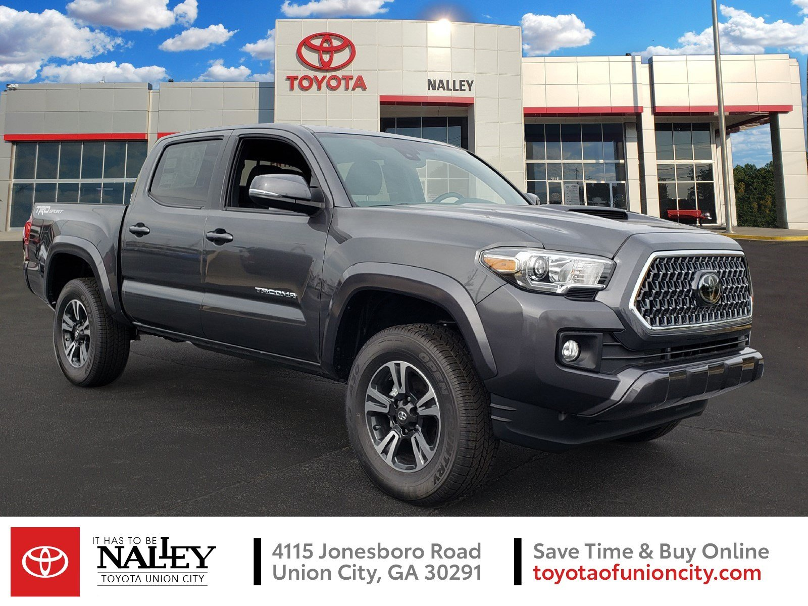 Toyota Tacoma Trd Sport >> New 2019 Toyota Tacoma 2wd Trd Sport Double Cab 5 Bed V6 At Natl