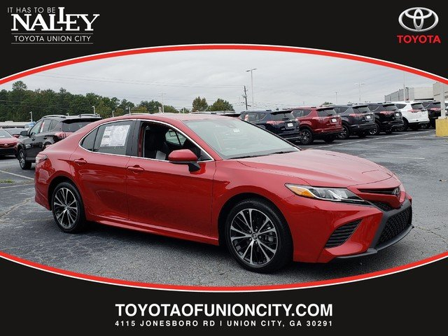 New 2019 Toyota Camry Se 4dr Car In Union City Ku172333 Nalley