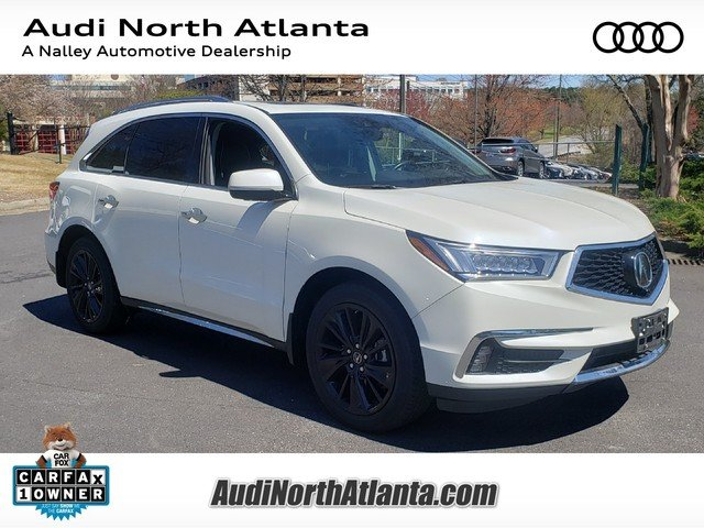 Pre Owned 2017 Acura Mdx W Advance Entertainment Pkg