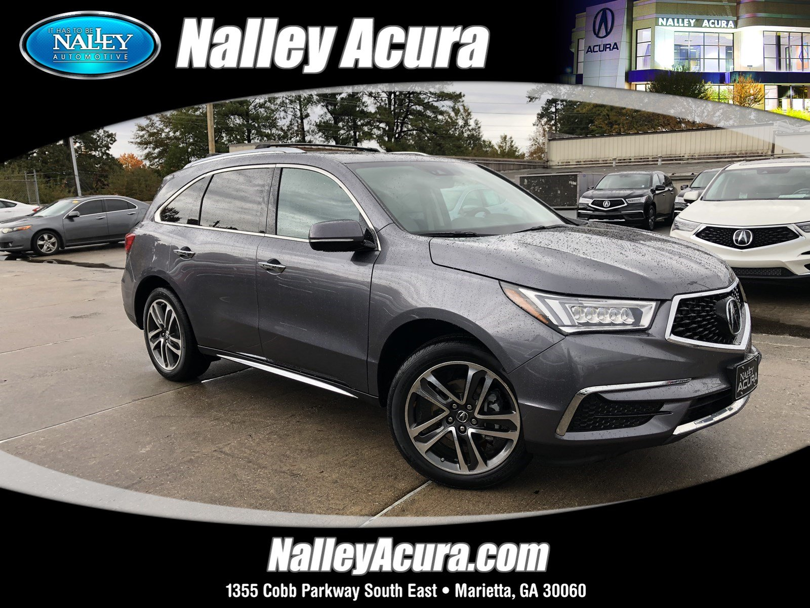 Pre Owned 2018 Acura MDX w Technology Pkg Sport Utility in Union