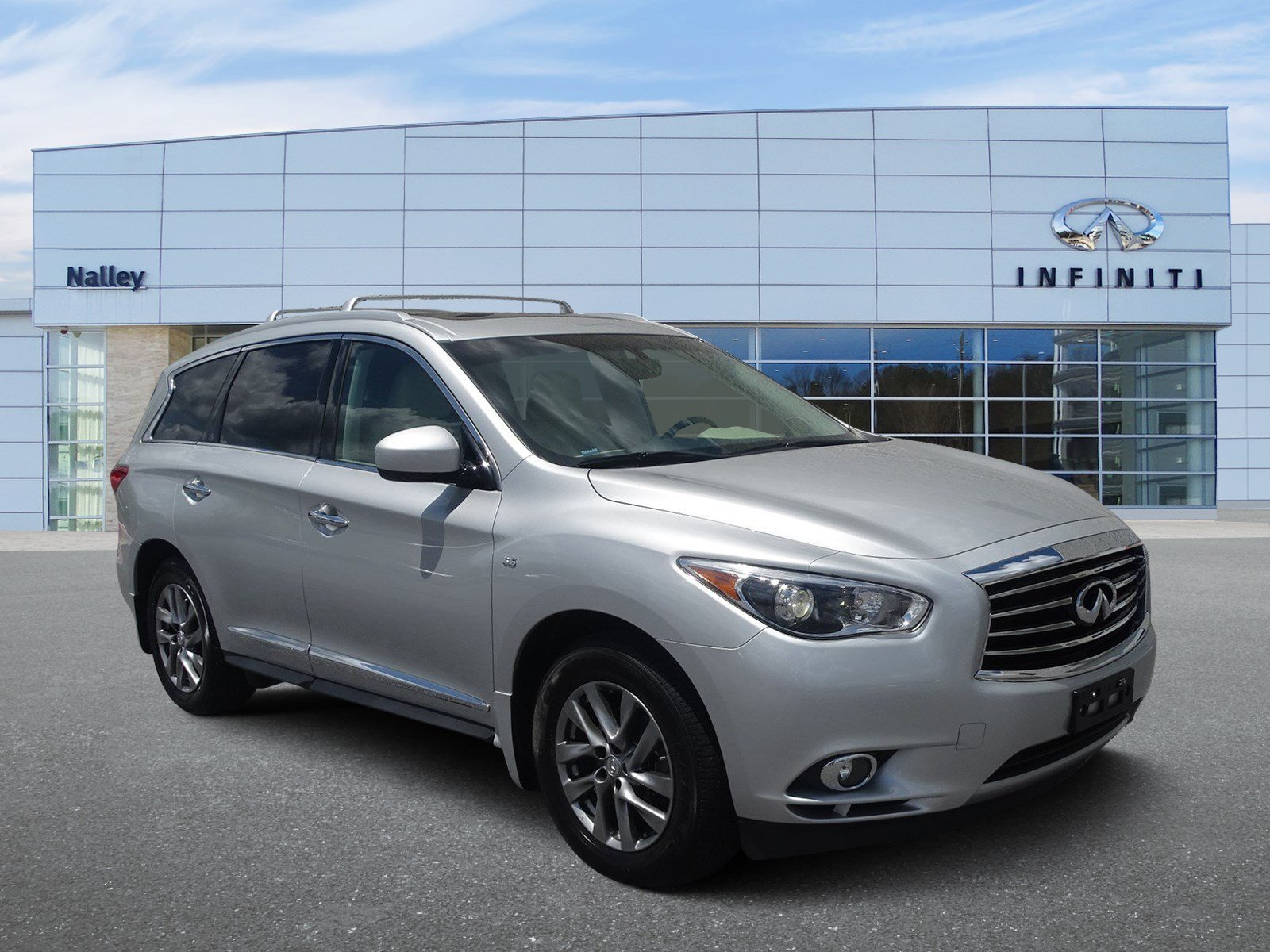 Pre-Owned 2015 INFINITI QX60 PREMIUM PACKAGE