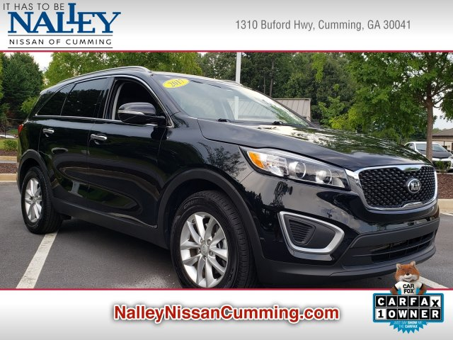 Kia Of Union City >> Pre Owned 2017 Kia Sorento Lx Fwd Sport Utility