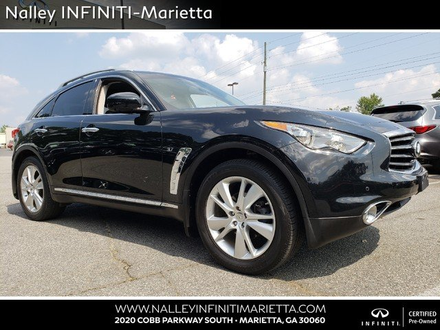 Pre Owned 2014 Infiniti Qx70 Base Sport Utility In Union City