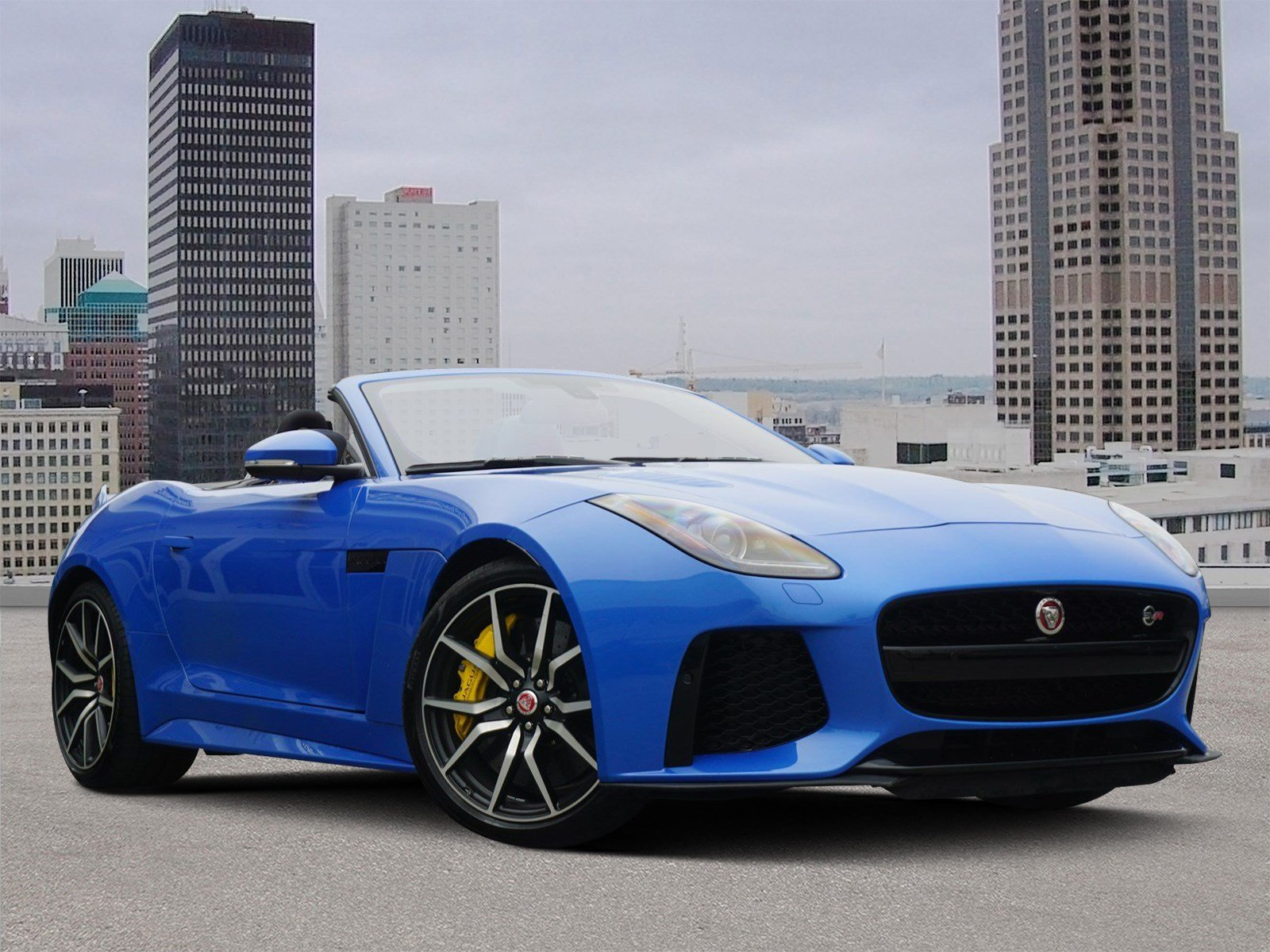 Pre Owned 2017 Jaguar F Type Svr