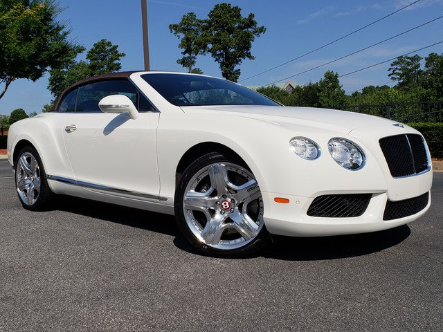 Pre Owned 2013 Bentley Continental Gt V8 Gt V8 Convertible