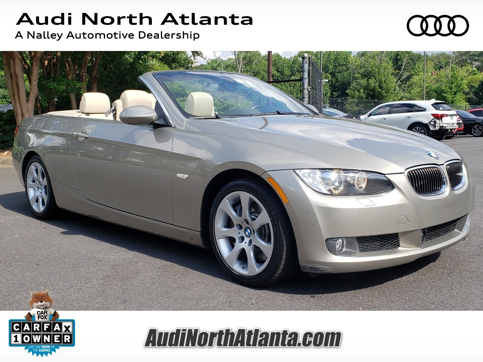Bmw 335I Convertible >> Pre Owned 2008 Bmw 3 Series 335i Convertible In Union City 8px55079