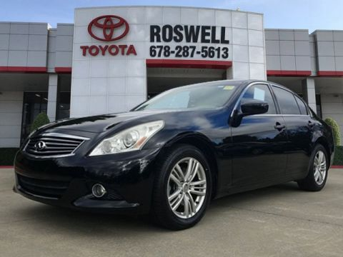 Pre-Owned 2012 INFINITI G37 Sedan Journey